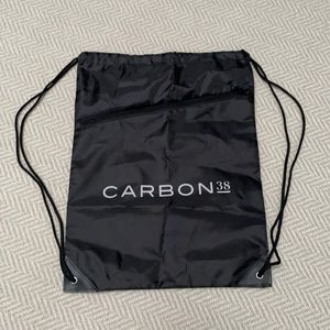 CARBON 38 Drawstring Backpack (*fits spin shoes)
